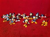 Lot of Mickey Mouse Rubber Toy Figurines  - Minnie Mouse / Goofy / Pluto
